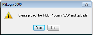 create project file